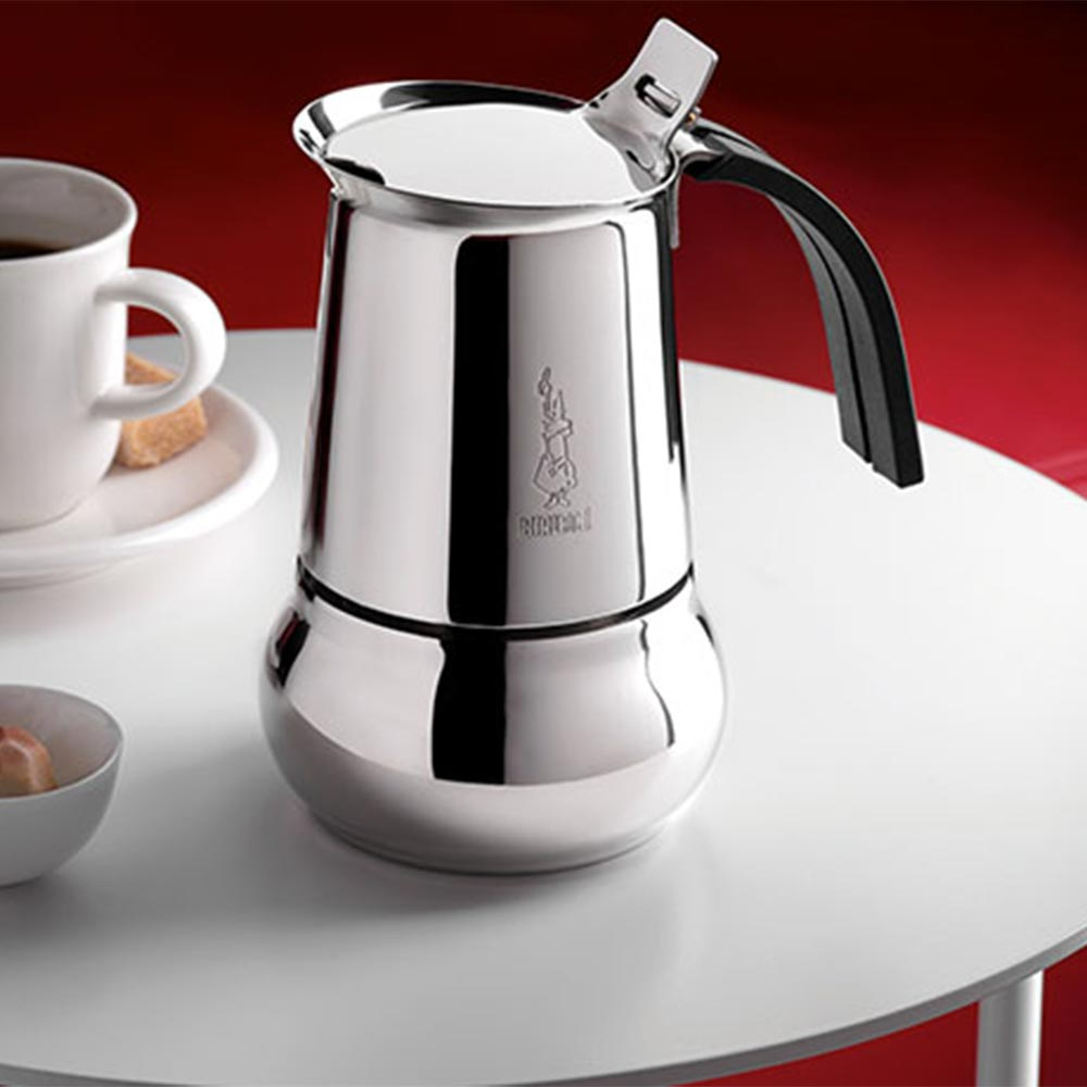 Stainless steel stovetop espresso maker 10 cup - Stainless Steel Stovetop Espresso Maker 10 Cup 49