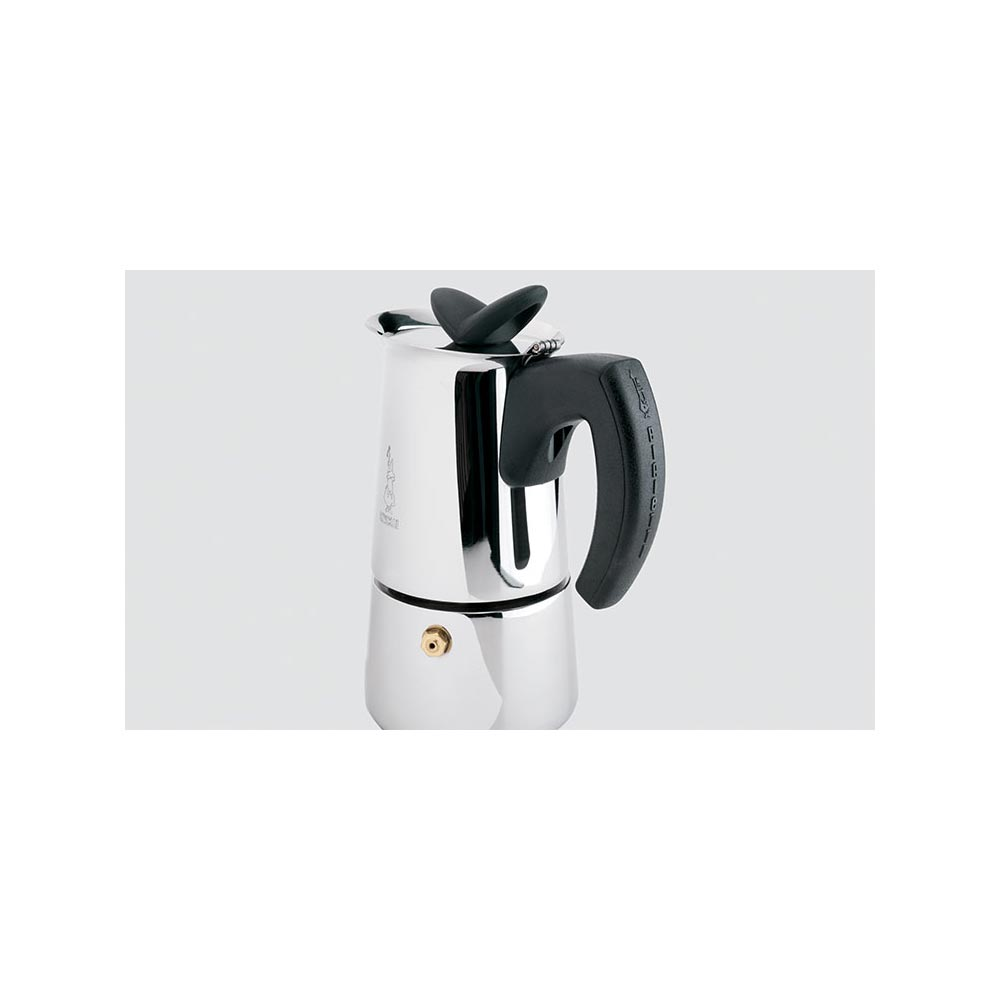 Stainless steel stovetop espresso maker 10 cup - Bialetti Musa