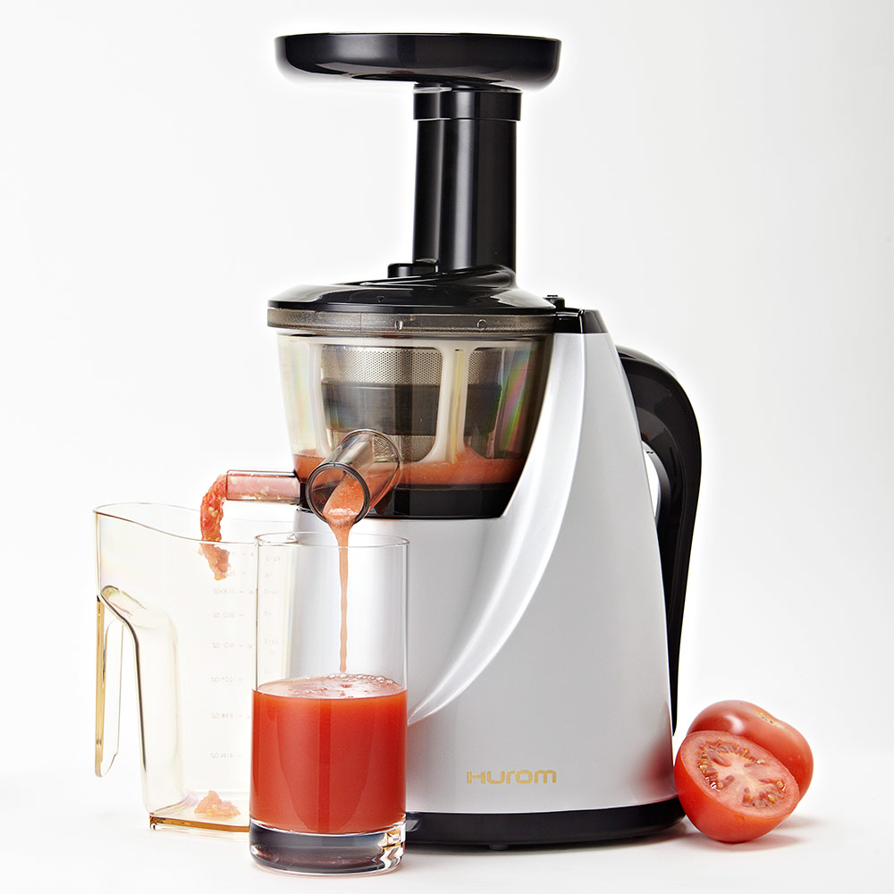 Slow Juicer Oxone 875 : Hurom HU100 Slow Juicer in Silver